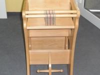 Massivholzmöbel 2 - Schaukelpferd-Hochstuhl-Kombination